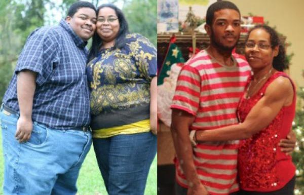 Un couple perd 230 kilos en deux ans (Angela + Willie Gillis)