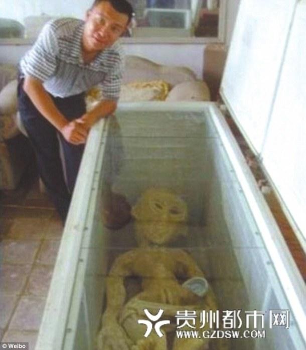 UN FERMIER CHINOIS EMPRISONNE POUR AVOIR MENTI SUR LE FAIT D'AVOIR ELECTROCUTE UN ALIEN ET L'AVOIR MIS DANS SON FRIGO - Mr Li