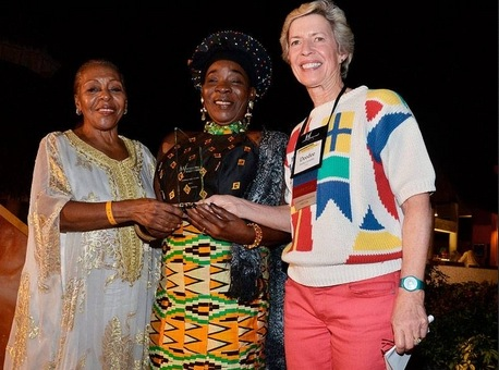 RITA MARLEY : REMERCIEE ET HONOREE AU FORUM IWF POUR SON ACTION EN AFRIQUE